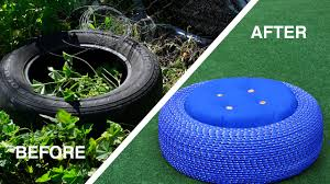 outdoor tire seats youtube