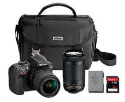 camera black friday 2016 black friday 499 99 nikon d3400 dslr camera 2 lens bundle