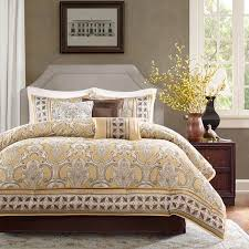 Yellow And White Duvet Glamorous Yellow And Brown Comforter Set 77 On Duvet Cover Sets