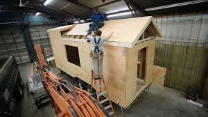 build and frame a tiny house roof tiny house