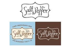 professional logo design for salt u0026 pepper bar u0026 restaurant