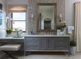 mirrored vanity stool bathroom transitional with polished ornate