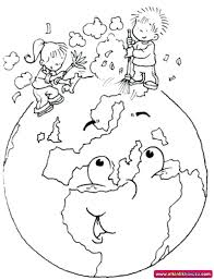 World Earth Day Printable Coloring Pages For Preschool First Color Day Printable Coloring Pages