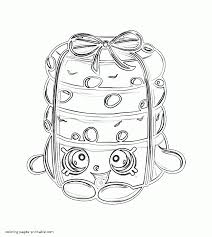 baby shopkins coloring pages stacks cookie
