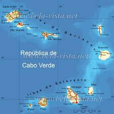 Cabo Verde Map Cabo Verde Mapa Online World Map