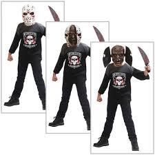 Halloween Michael Myers T Shirts by Jason Costume Kids Scary Serial Killer Halloween Fancy Dress Ebay