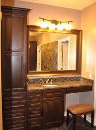 Bathroom Countertop Storage by Bathroom Countertop Storage Cabinets Bathroom Storage
