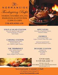 thanksgiving dinner packages thanksgiving buffet 2016 normanside
