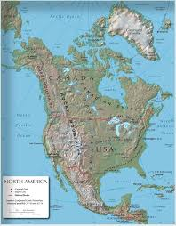 geographical map of guatemala what geographic features does canada and the united states