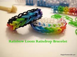 bracelet youtube images How to make rainbow loom raindrop bracelet jpg