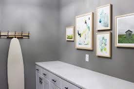room tour laundry room minted art