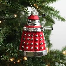 dalek doctor who ornament the worley gig