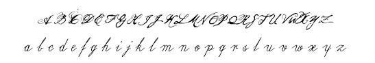 olho de boi font calligraphy script font