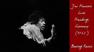 Radio One Jimi Jimi Hendrix Live Hamburg Germany 1967 Bootleg Radio Hd