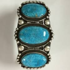 vintage silver turquoise bracelet images Native american sterling silver turquoise jewelry old pawn jpg