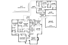 mediterranean guest house plans home deco plans