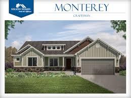 craftsmen homes monterey floor plan rambler new home design nilson homes