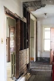 setbacks in rewiring our 1891 victorian house making it lovely second floor hallway being remodeled
