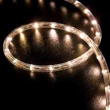 100 warm white led rope light home outdoor lighting