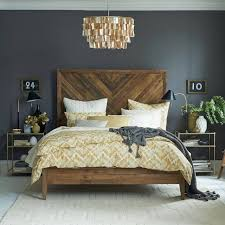 21 beautiful wooden bed interior design ideas reclaimed wood