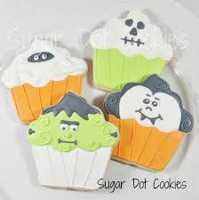 Halloween Cookie Cakes Sugar Dot Cookies Halloween Sugar Cookies With Royal Icing