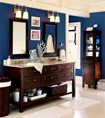 Navy Blue And White Bathroom by Nautical Bathroom Decorating Ideas Decorating Bathrooms Pinterest