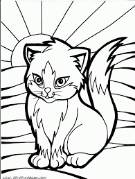 christmas cat coloring page snapsite me