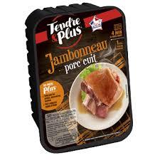 cuisiner un jambonneau jambonneau de porc cuit tendre et plus