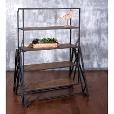 table converts to shelf convertible shelf table worldwide home accent furniture convertible