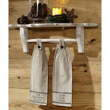 timberland christmas button loop kitchen towel set of 2