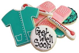 get well soon cookies well soon gift box sugar cookies