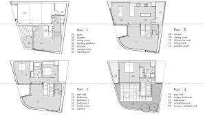 Powder Room Floor Plans by Bi Level House Plans 1000 Images About Amazing Split Level Floor
