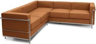 canape angle cuir marron canapé d angle cuir marron clair inspiré lc2 le corbusier