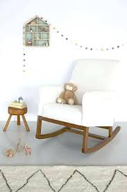 Rocking Chair Recliner For Nursery Baby Relax The Microfiber Plush Nursery Rocker Chair Rockers And