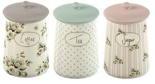 fresh cream ceramic kitchen canisters 20236