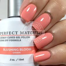 lechat blushing bloom swatch by chickettes com u003c coral peach
