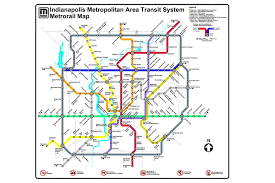 Dc Metro Rail Map by Indianapolis Metrorail Lawrence Fishers Carmel Mover Bus To