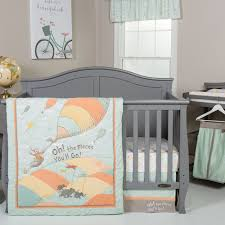 Dr Seuss Crib Bedding Sets Trend Lab Dr Seuss Oh The Places You Ll Go 5 Crib Bedding