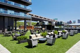 elevated beer garden u0027 and outdoor eatery opens at new hotel tower
