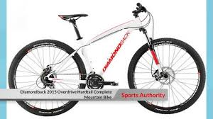 sports authority mountain bike diamondback 2015 overdrive hardtail