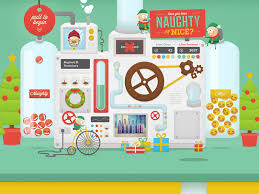 naughty or nice machine by thomas fitzpatrick dribbble