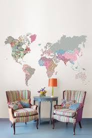 World Map Home Decor Brewster Home Fashions Modern U0026 Classics Deco And Furniture