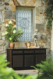 outdoor resin storage cabinets resin wicker outdoor buffet with storage traditional birmingham