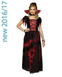 Victorian Halloween Costume Amazon Fun Countessa Girls Victorian Vampire Halloween