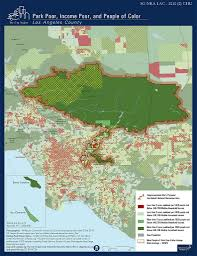 San Gabriel Map San Gabriel Mountains Best Practice Environmental Justice