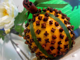 orange clove pomander there is no scent on earth that reminds me of