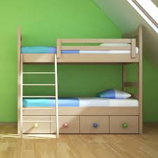 Kelsey Natural Color Bunk Bed The Yellow Door Store - Double top bunk bed