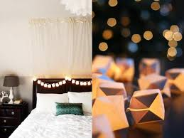 Decorating With String Lights Diy Paper Cube String Lights Wit U0026 Whistle