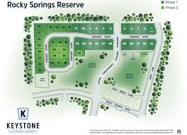 Ft Detrick Map Rocky Springs Reserve Community Keystone Custom Homes