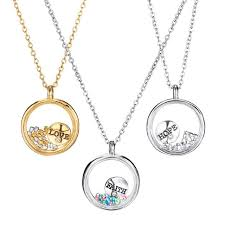 inspirational charms adorable and inspirational charms float in a glass locket filled